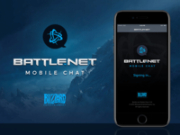 Battle.net Mobile Chat App