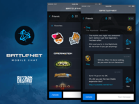 Battle.net Mobile Chat App 2