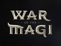 War of the Magi - Logo Sketch
