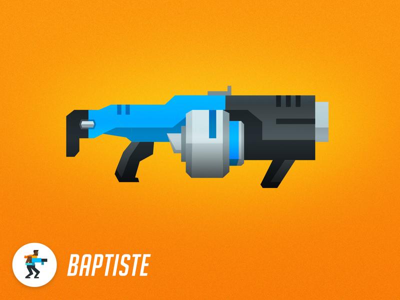 Overwatch Armory - Baptiste