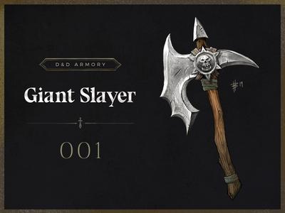D&D Armory - 001 : Giant Slayer