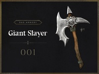 D&D Armory - 001 : Giant Slayer