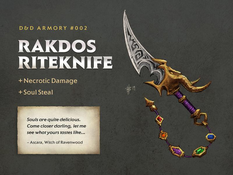 D&D Armory - 002: Rakdos Riteknife