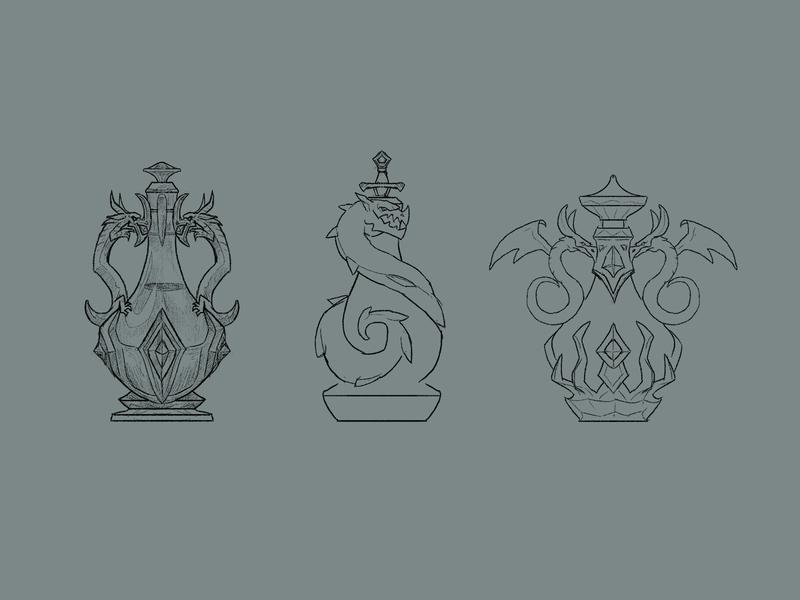 Potion of Fire Breath design explorations
