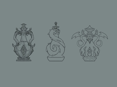 Potion of Fire Breath design explorations potions potion illustration fantasy rpg dndarmory armory dnd