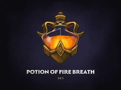 Lesser Potion of Fire Breath