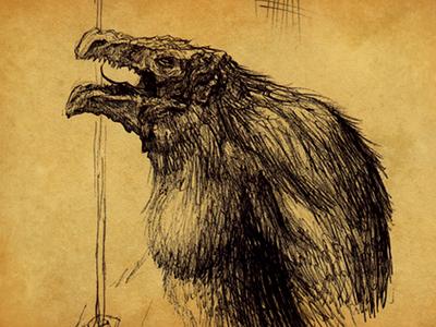Sketch - Wendigo