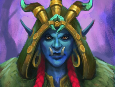 (WIP) Warcraft Troll Druid