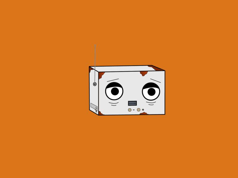 Radio velho radio illustrator vector illustration illustration art