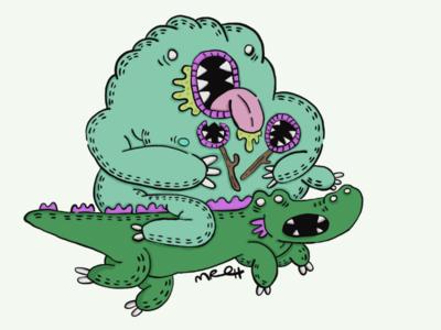 Crocodile Rider