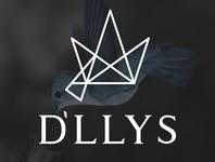 D`LLYS crown hummingbird fashion design logo fashion brand golden ratio goldenratio designer branding brand design brand
