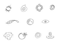 Branding/Icon sketches for NASA