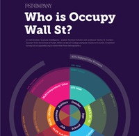 Fast Company Occupy Wall Street Infographic