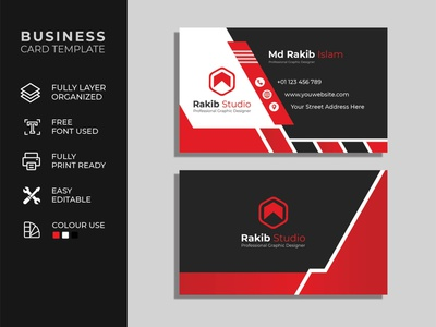 Creative Business card design template business card mockup office minimalist address visiting visit identity card corporate identity company templates business card design business cards business card template design banner business creative