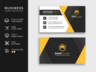 Creative Business card design template flyer minimalist design business card design banner branding business card template business card mockup creative template business card professional id identity information contact office cards business