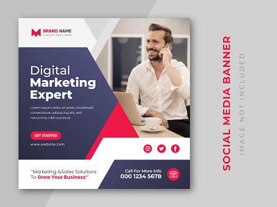 Digital marketing expert and corporate social media post design. expert