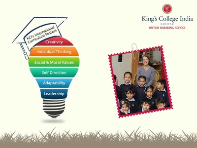 King's College India corporate design corporate branding branding