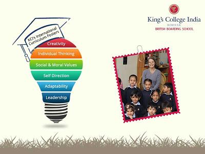 King's College India corporate design corporate branding branding