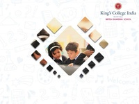 King's college India ux web design corporate branding corporate design branding
