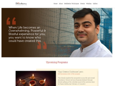 Shivoham Foundation web design corporate design corporate branding branding