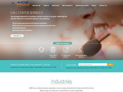 AIBS inc ui ux web design corporate design corporate branding branding