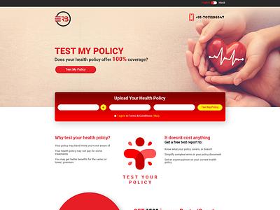 ERB - Test My Policy corporate design corporate branding web design