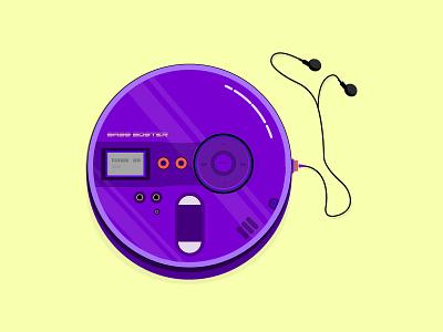 Discman listen discman music