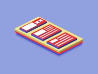 Isometric Layers