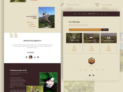 Zipline Website sketch file illustration design visual design shot ui challenge