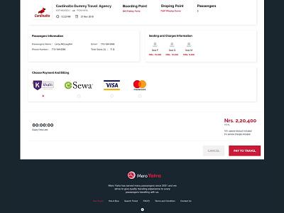 Payment Screen UI branding design visual design ui shot challenge
