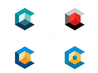 Cubic Core vector shot svg illustrations visual design illustration
