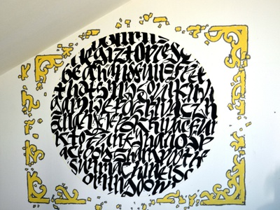 Cultural Center of Belgrade Project (finished) cultural center belgrade beograd kultura kaligrafija calligraphy typography brush bojan lacmanovic