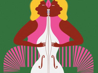 Play femme lgbtqia flatdesign design flat illustration editorial illustration colours colour bright
