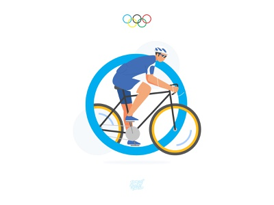 Cycling Race Olympics Sport race tokyo character illustration people cycling sport olympic