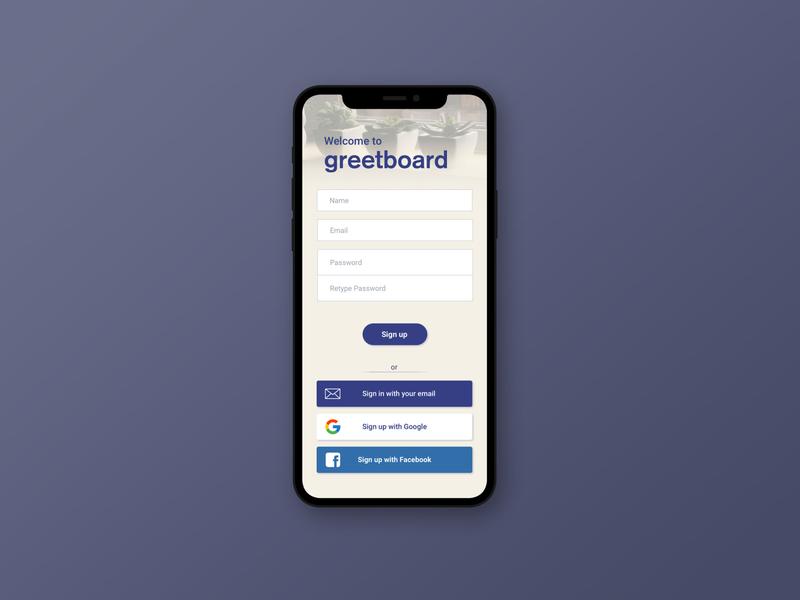#001 for Daily UI design ui