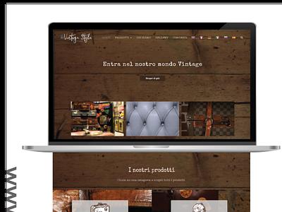 Vintage shop online vintagedesign vintageshop wesitedesign