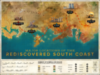 Major Locations of the Rediscovered South Coast