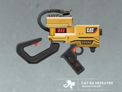 Colonial weaponry II laser shotgun gamedev illustration guns firearms scifi weapons concept art conceptart