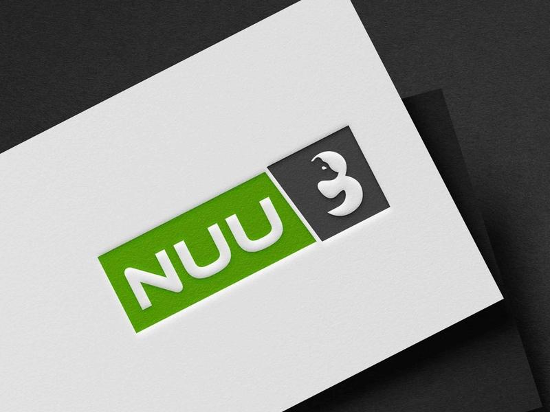 nuu 3 bear panda koala baby bear cute bear negative space bear logo negative space logo nuu 3 bear nuu 3 bear typography minimal logodesign logo design flat vector logo illustration design branding