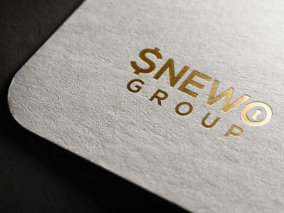 sneWO GROUP minimal logodesign logo design vector logo illustration design branding snewo snewo snewo group snewo group
