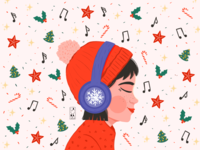Turn the Christmas music on!
