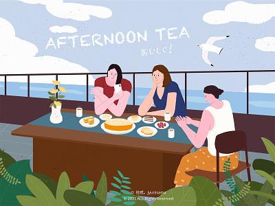 Afternoon Tea illustration