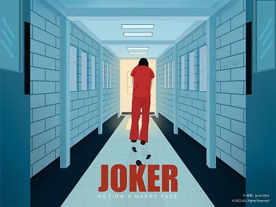Joker practice illustration