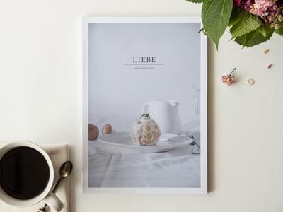 Liebe geht durch den Magen cookbook photography book food editorial design food photography
