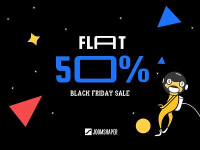 Black Friday Ad design vector art illustration social ad graphic design