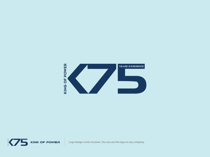 K75 Minimalist Logo Design