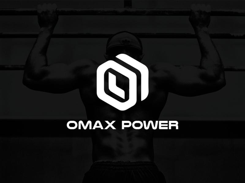 OMAX POWER brand identity logodesign logotype logo webdesign uxdesign uidesign dribbble behance graphicdesign ux ui branding typography illustration