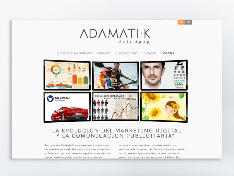 WEB DESIGN ADAMATIK