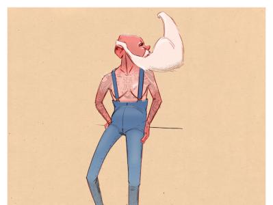 Hello Dribbble my old friend 🎶 figuredrawing character design austin texas illustration illustrator