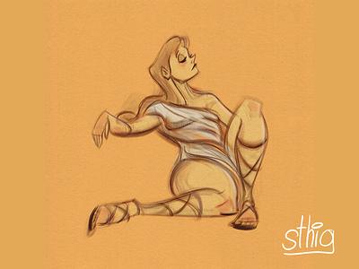 Megera hercules figuredrawing sketch photoshop illustrator princess greek